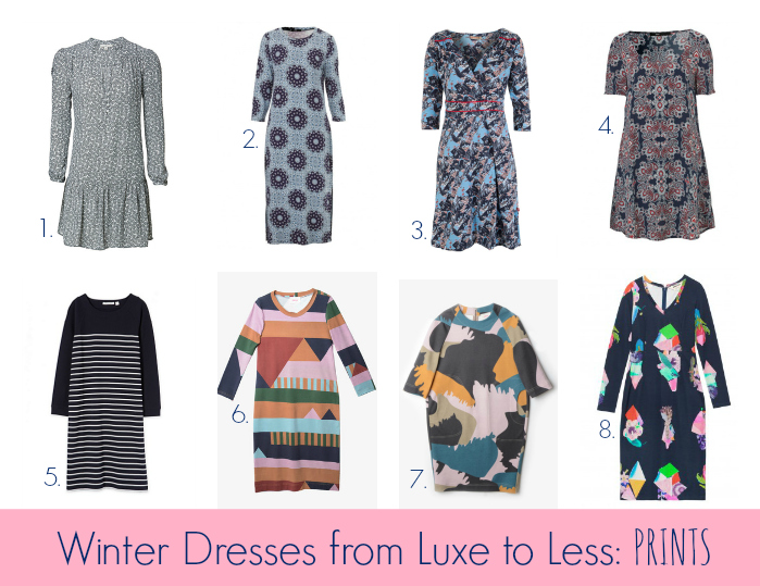 a9c26eaec0033 Winter Dresses from Luxe to Less - Prints - Style & Shenanigans