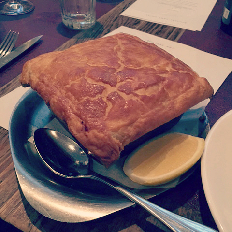 Fish Pie at The Builders Arms
