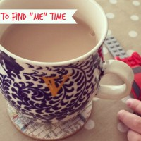 "How to Find ""Me"" Time"