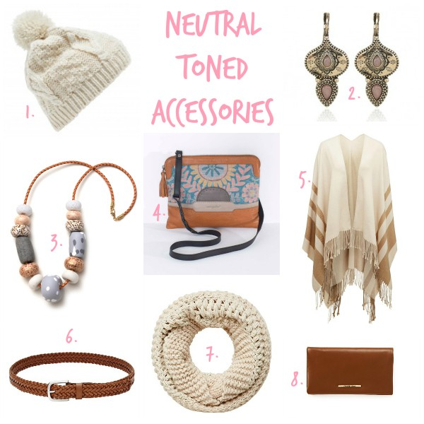 Neutral Toned Accessories