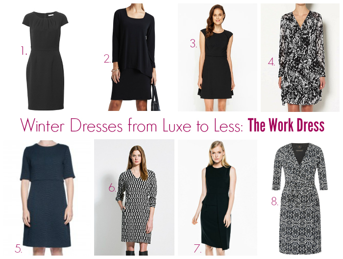 97566177df361 Winter Dresses from Luxe to Less: The Work Dress - Style & Shenanigans