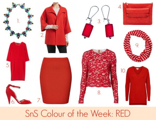 SnS Colour of the Week - Red