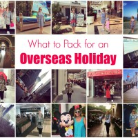What to Pack for an Overseas Holiday