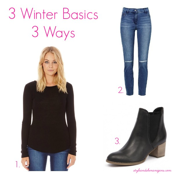 3 Winter Basics 3 Ways - Basics