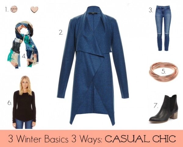 3 Winter Basics 3 Ways - Casual Chic