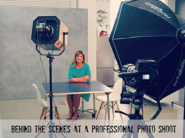 Behind the Scenes at a Professional Photo Shoot