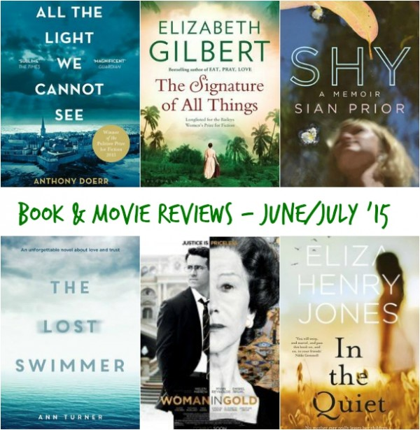 Book & Movie Reviews July 2015