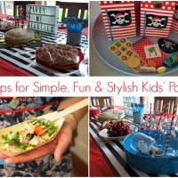 15 Tips for Keeping Kids' Parties Simple, Fun and Stylish