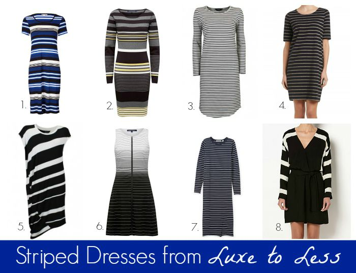 Striped Tops Amp Dresses From Luxe To Less Style Amp Shenanigans