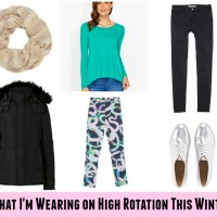 What I'm wearing on high rotation this Winter