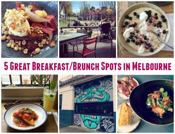 5 Great BreakfastBrunch Spots in Melbourne