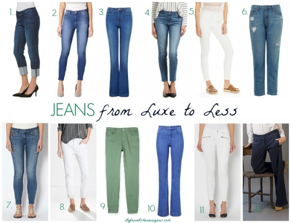 Jeans from Luxe to Less