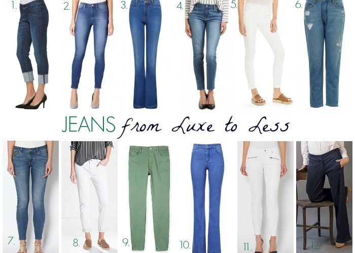 Spring Pants from Luxe to Less: Jeans