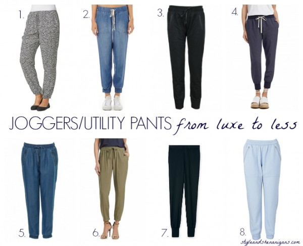 JoggersUtility Pants from Luxe to Less