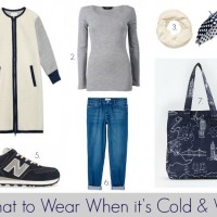 What to Wear When it's Cold & Wet #1