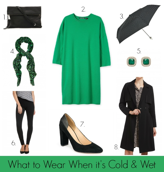 What to Wear When its Cold and Wet #1