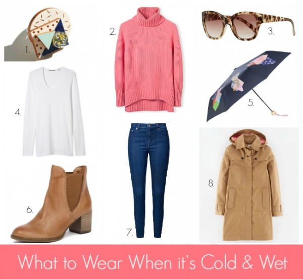 What to Wear When its Cold and Wet #3