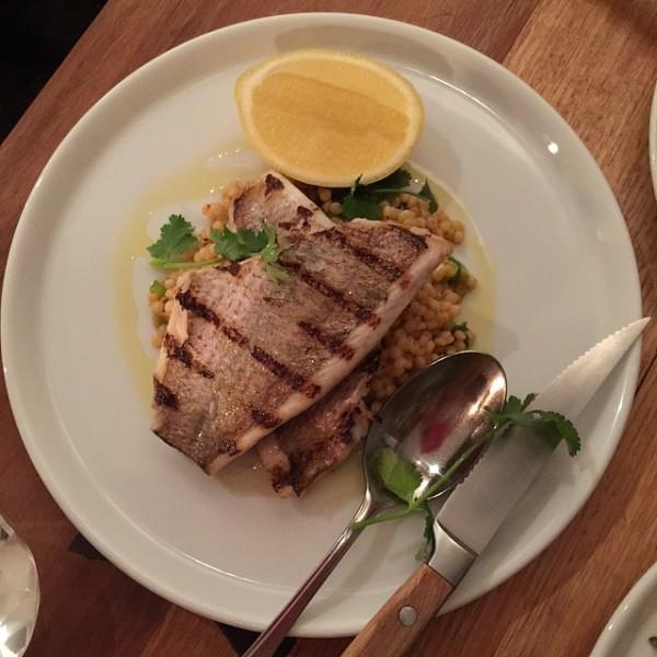 Fish at Casa Ciuccio