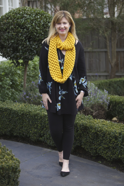 Glassons with Scarf #1