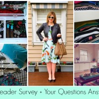 Style and Shenanigans Reader Survey 2015 + Your Questions Answered