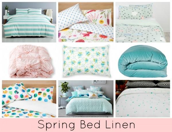 Spring Bed Linen - Pastels
