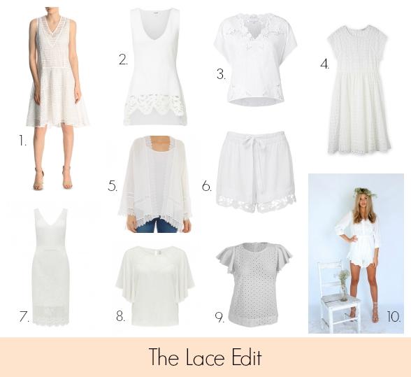 The Lace Edit