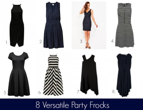 8 Versatile Party Frocks