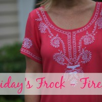 Friday's Frock 2015 – Firefly
