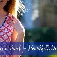 Friday's Frock 2015 – Heartfelt Designs Noosa