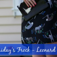 Friday's Frock 2015 – Leonard St