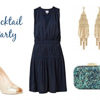 Styled Three Ways: The Navy Dress