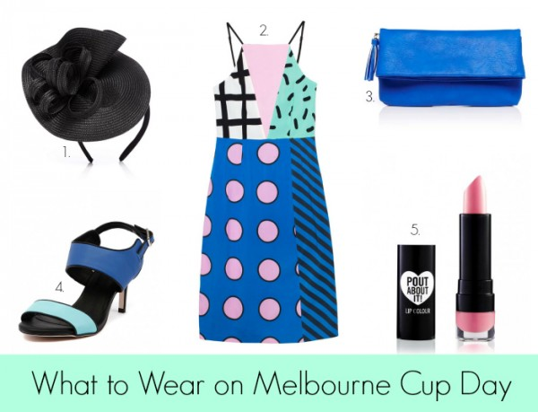 What to Wear on Melbourne Cup Day Blue