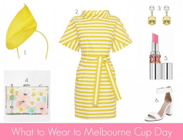 What to Wear to Melbourne Cup Day Yellow