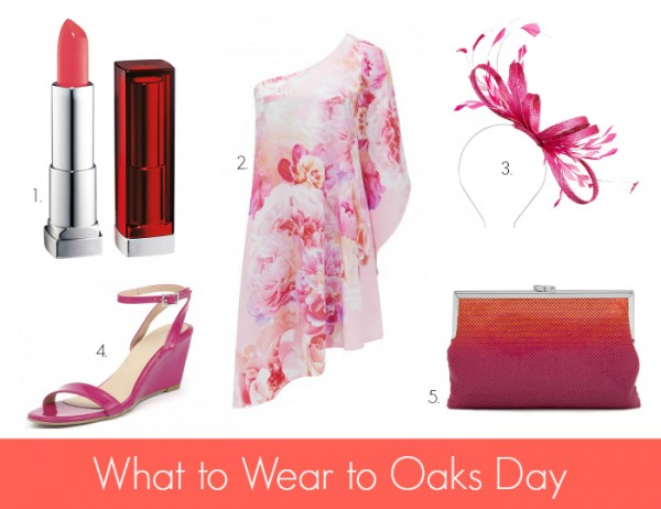 What to Wear to Oaks - PinkCoral