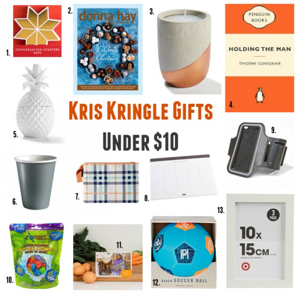 Employee christmas gift ideas under 10