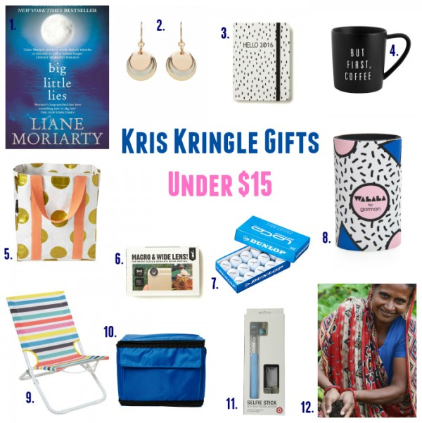 Kris Kringle Ideas Under $15