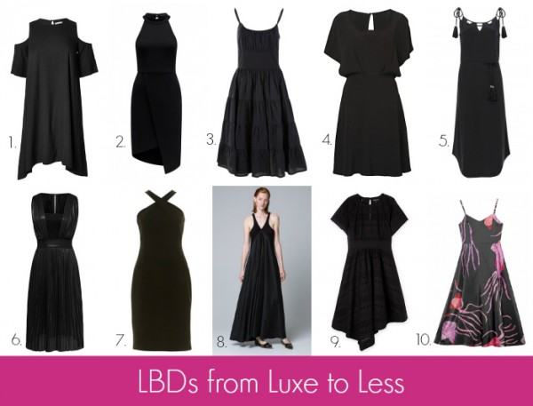 LBDs from Luxe to Less