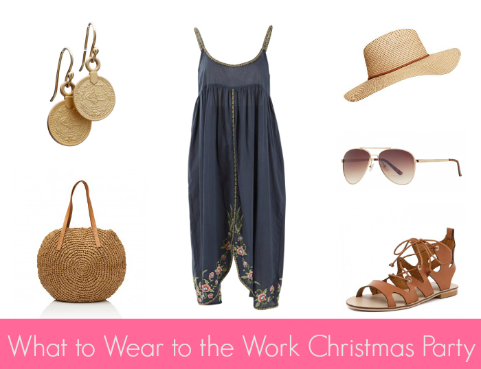 What to Wear to the Work Christmas Party - Style & Shenanigans