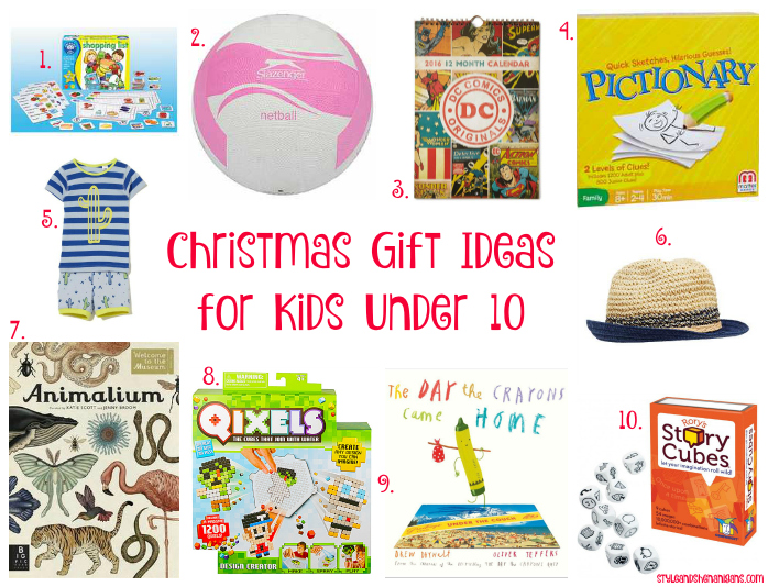 Gift Ideas For Kids Under 10 Christmas 2015 Style Shenanigans