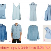 Luxe to Less: Chambray
