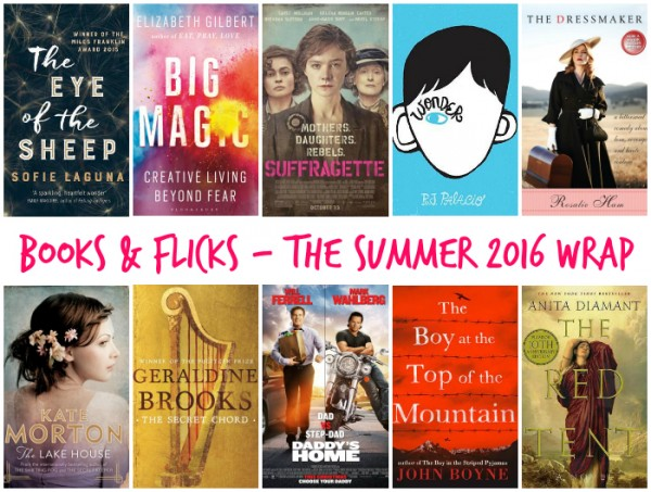 PicMBooks & Flicks - The Summer 2016 Wrap