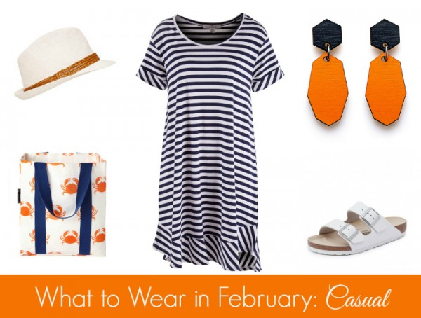 What to Wear in February - Casual