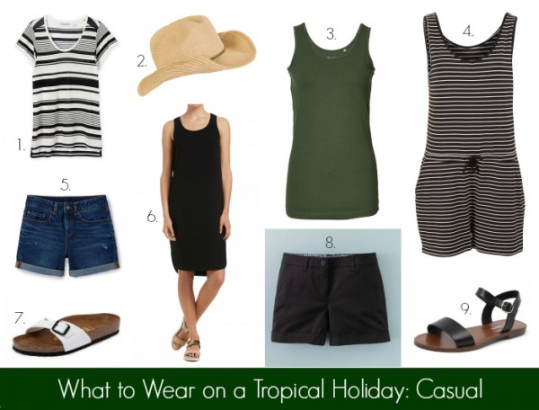 What to Wear on a Tropical Holiday - Casual
