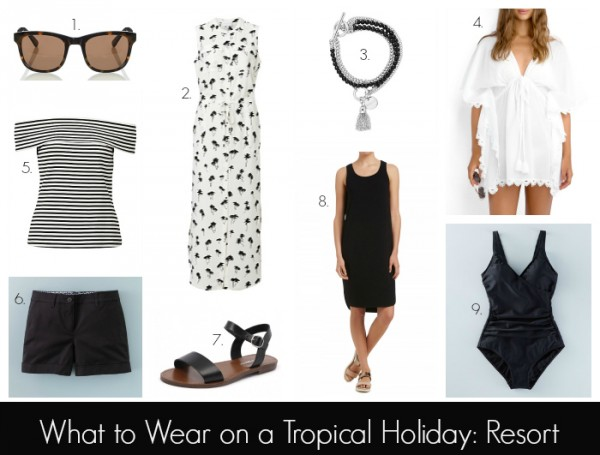 What to Wear on a Tropical Holiday - Resort
