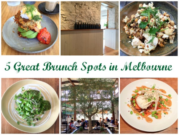 5 Great Brunch Spots in Melbourne