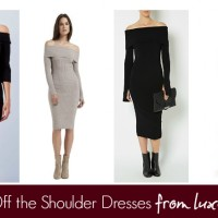Luxe to Less: Off the Shoulder & Cold Shoulder Dresses