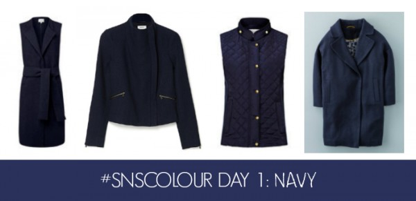 #SNSCOLOUR 2016 DAY 1 NAVY JACKETS & COATS