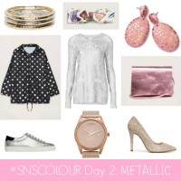 #SNSCOLOUR 2016 DAY 2: Metallic