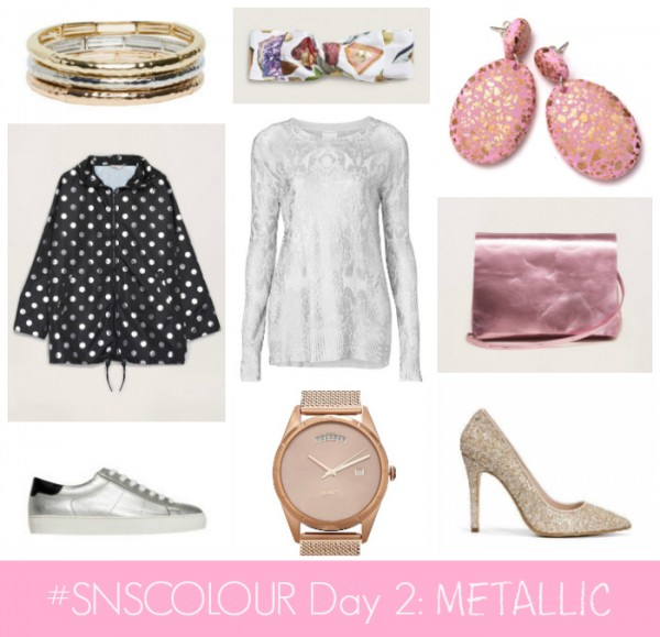 #SNSCOLOUR 2016 DAY 2 METALLIC