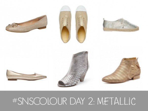 #SNSCOLOUR 2016 DAY 2 METALLIC SHOES